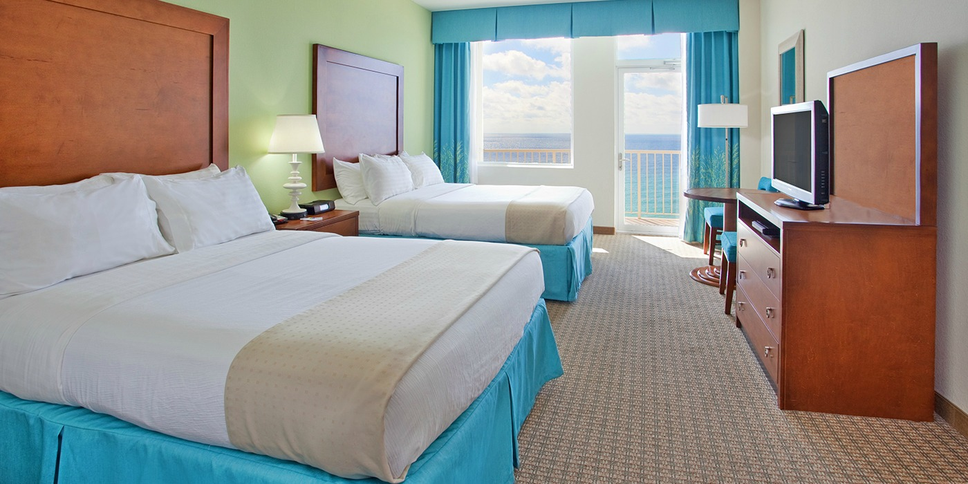 family hotel rooms |holiday inn resort pensacola beach fl | family