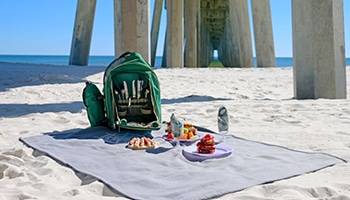 Holiday Inn Resort Pensacola Beach FL Picnic Package